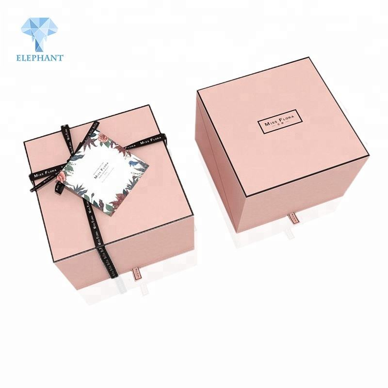 Exquisite high quality best price corrugated die cut window gift box