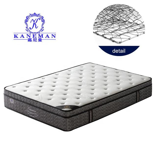 Factory direct five star luxury Colchones spring vacuum compressed good dream mattress
