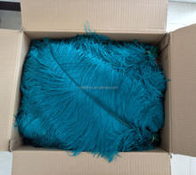 Wholesale cheap Artificial White and dyed colors 60-65cm big pole Ostrich feathers
