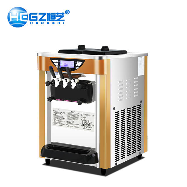 Soft Ice Cream Serve Pre Mix Ice Cream Maker Suppliers