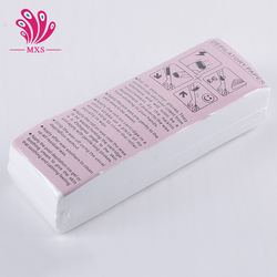 100 pcs Hair Removal Depilatory paper Nonwoven Epilator Wax Strip Paper Roll Waxing