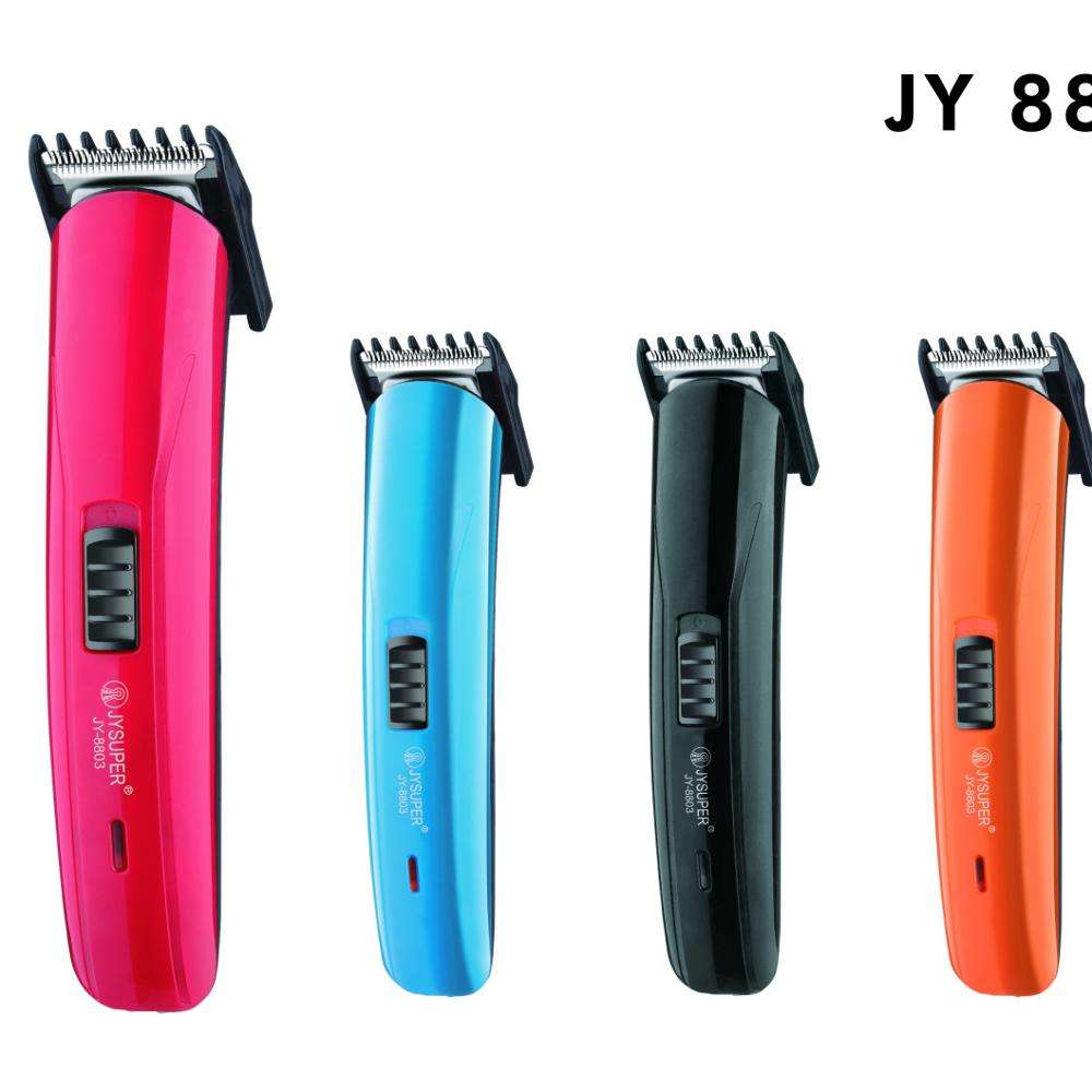 2019 NEW HOT SALE JY SUPER RECHARGEABLE HAIR TRIMMER JY8803 CLIPPER