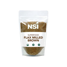 Organic Milled Brown Flax Seeds