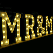 Outdoor 4ft LED light up letters marquee letters with light