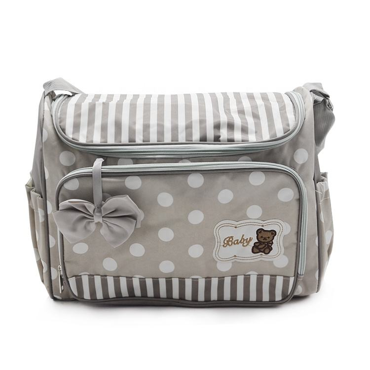 Wholesale Waterproof Mommy Bag Backpack Baby Diaper Bag
