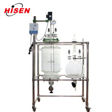 Pharmaceutical Industry application 50L Jacketed Glass Crystallization Equipment