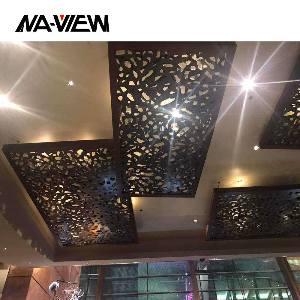Laser Cut Architectural Perforated Aluminum Facade Cladding Panels