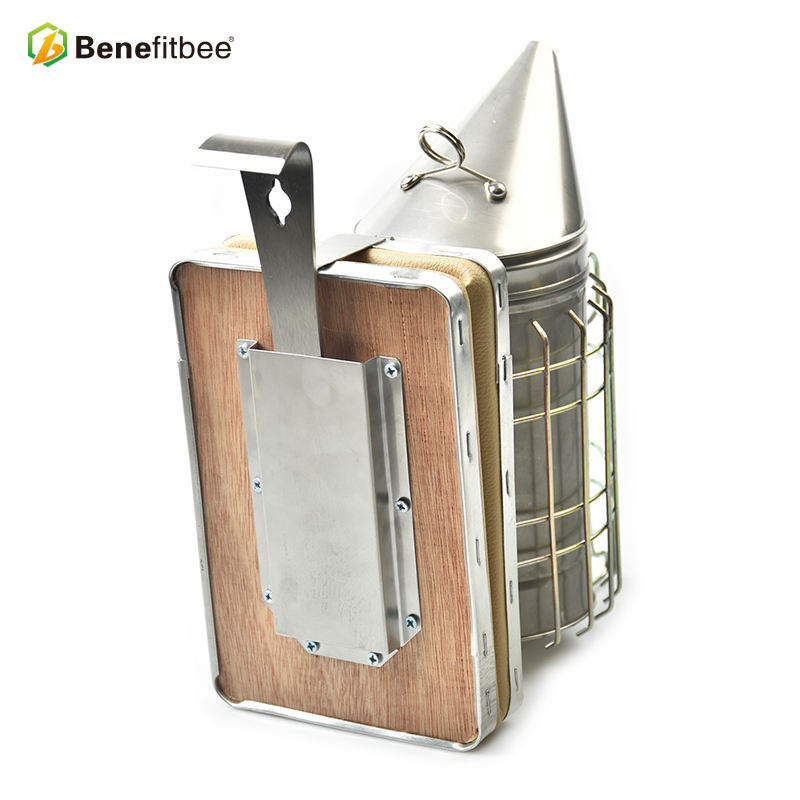 High-quality Beekeeping beehive Tools Stainless Steel Bee Smoker