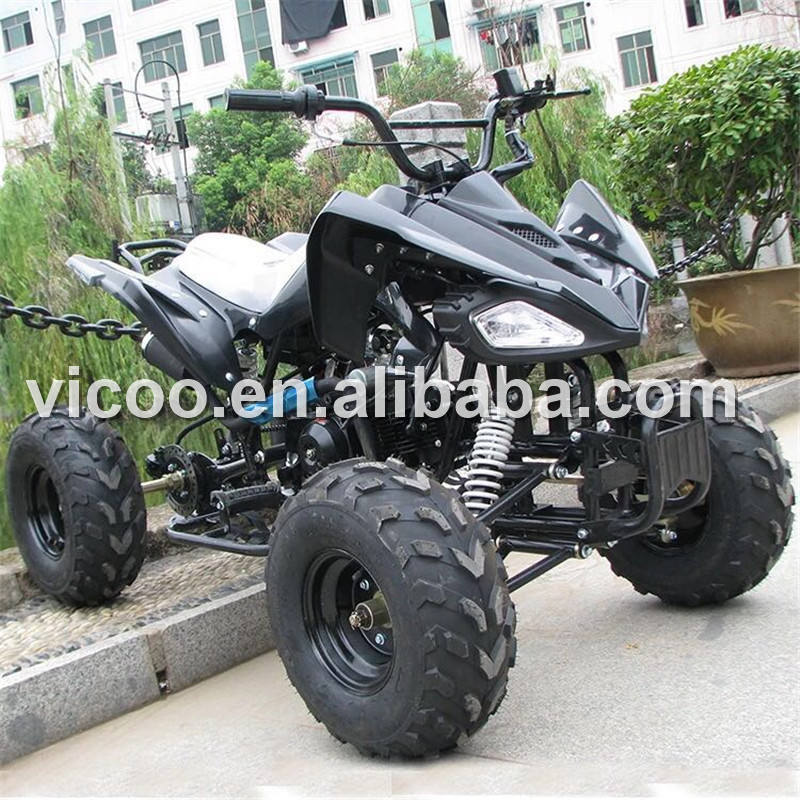 Adult gas powered panther 125cc atv four wheelers