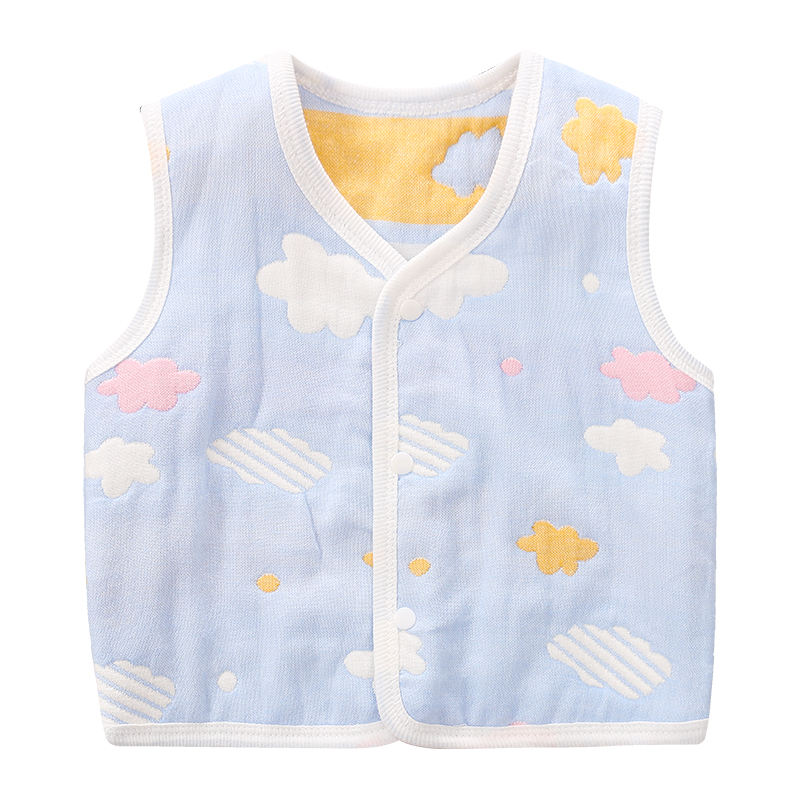 Quality Cute baby clothing infant baby girls boys warm vest cotton