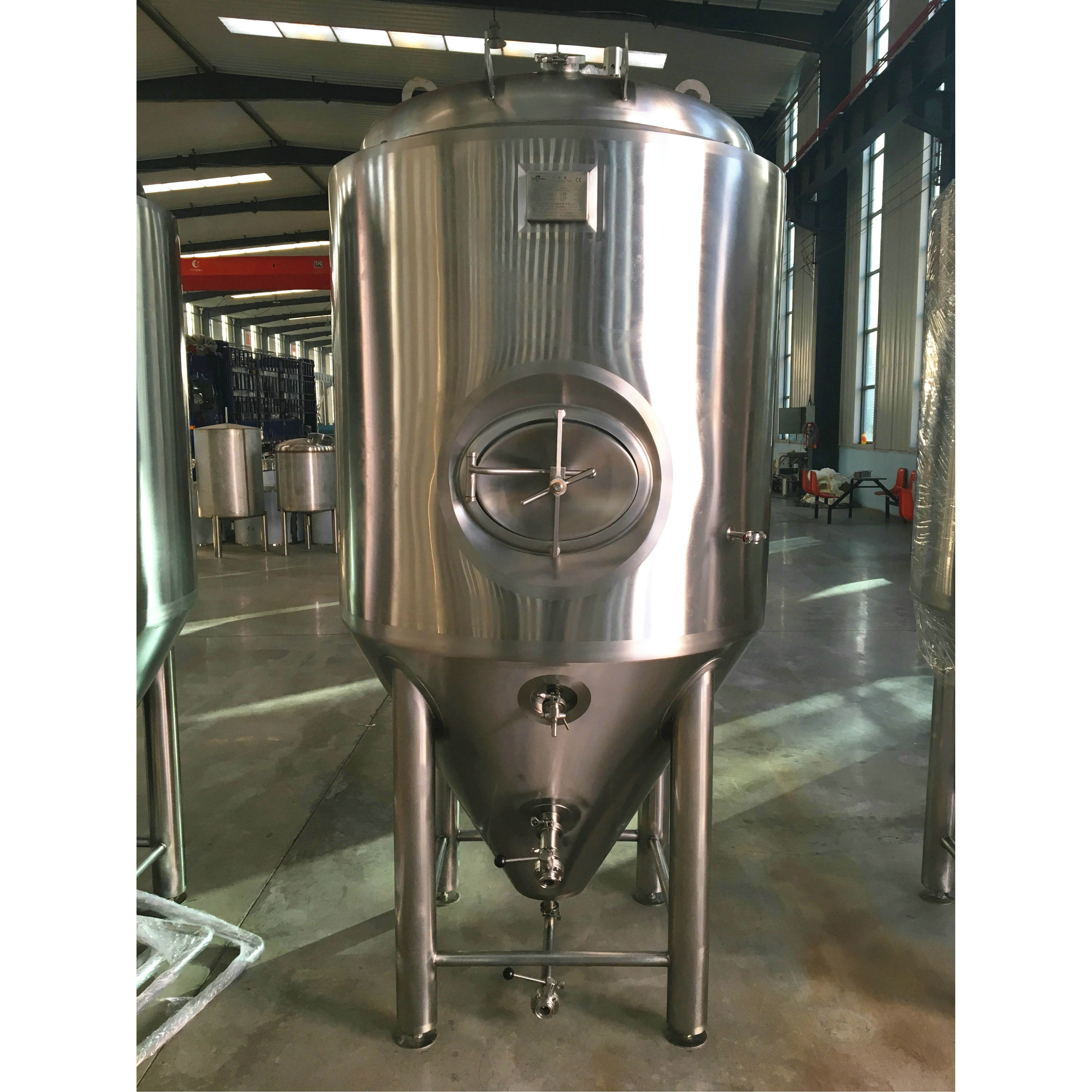 stainless steel tank with conical bottom