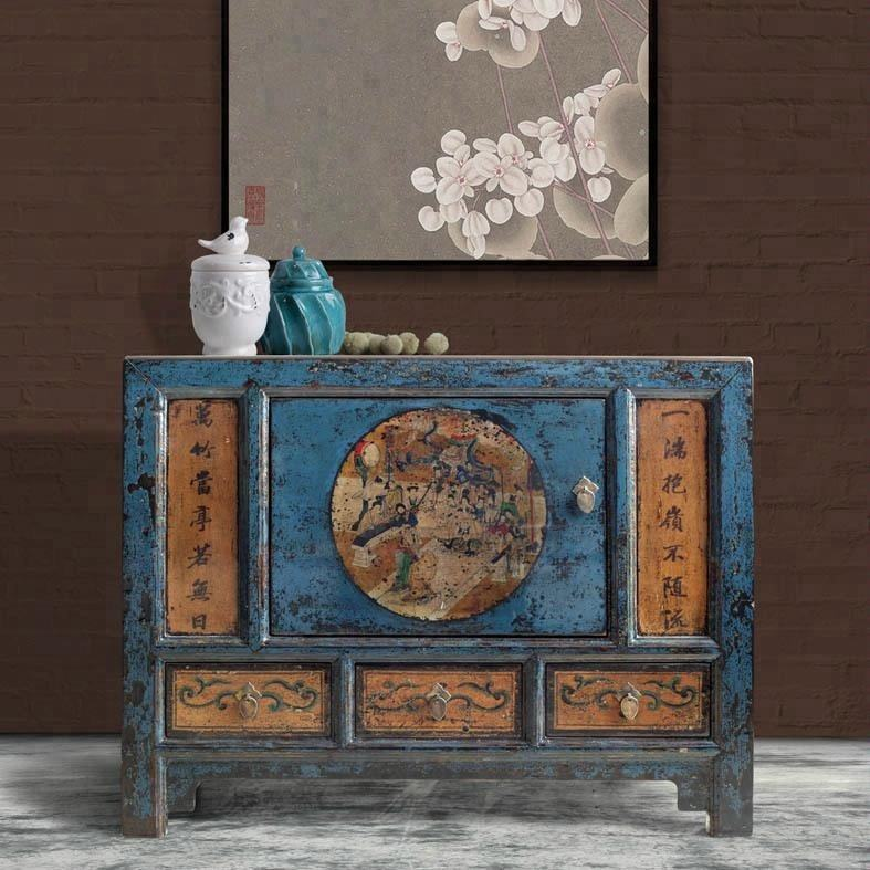 2016 beijing chinese antique furniture & rustic painted furniture