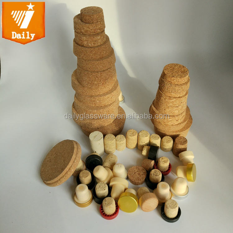 Custom Bottles Usage Natural Wine cork stopper and champagne cork