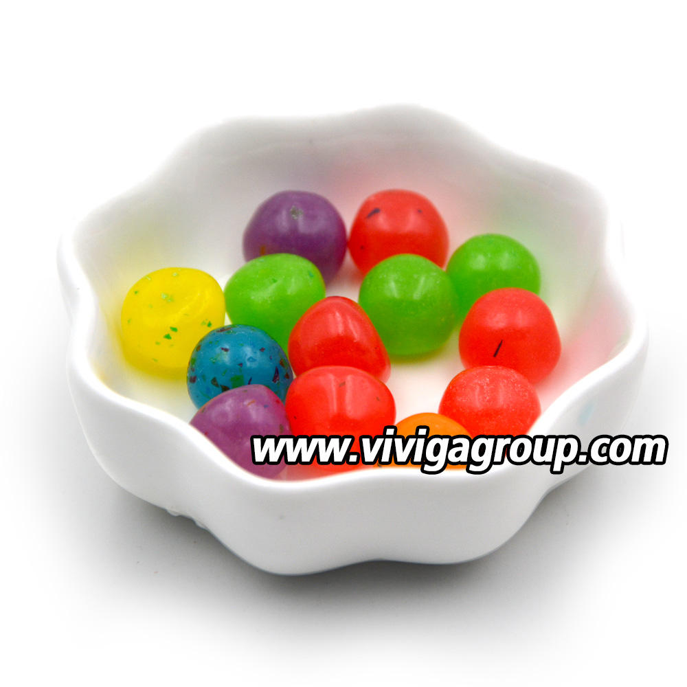 High quality basketball toy candy with fruit jelly bean