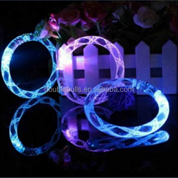 Flashing LED Bubble Bracelet, Party Favor, Waterproof, Assorted Colors (One size fits all) Custom Colorful light up wrist