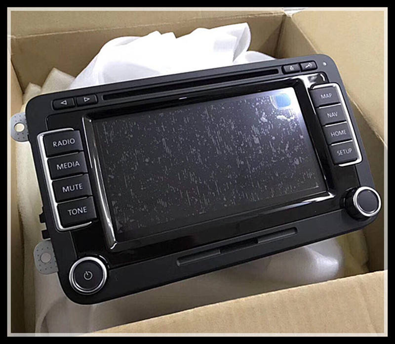 Brand New Original Car DVD Navigation Radio Volkswagen RNS510 LCD Display Modules For VW RNS 510 Car Auto Spare Parts
