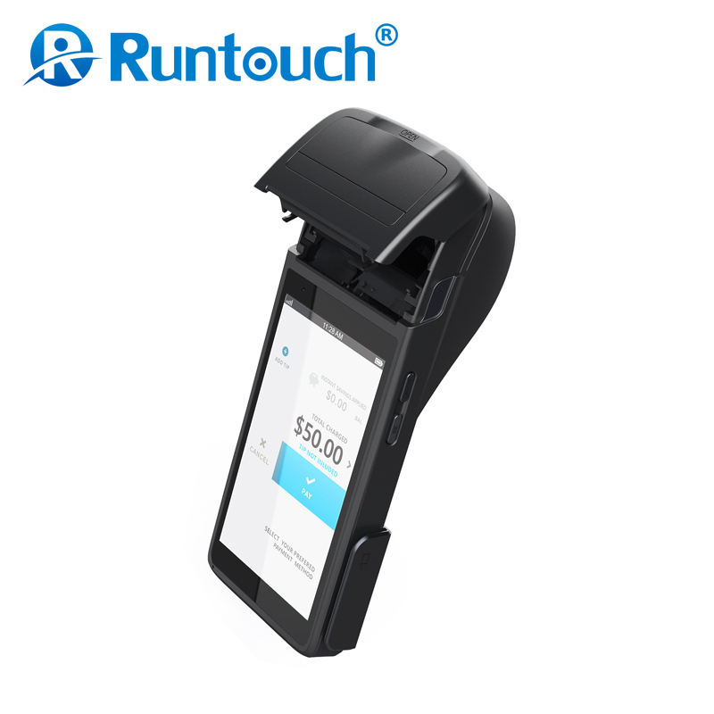 Runtouch RT8 Lotterie ticketing maschine/bus ticketing pos mit wireless magnetische kartenleser