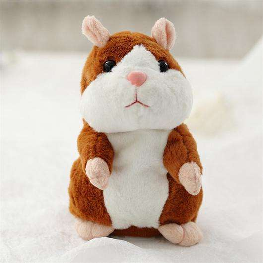 2018 Hot Selling Talking Hamster Mimicry Pet Toy Repeat Talking Mouse Plush Hamster Kids Gift