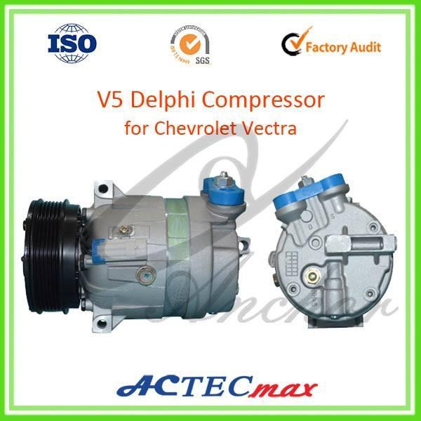 Blue Brand New DELPHI OEM Mechanical A//C Control Valve V5 Compressor