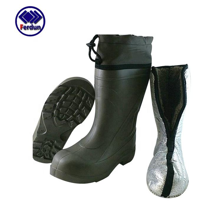 Professional Thicken custom PVC safety waterproof rubber rain boots