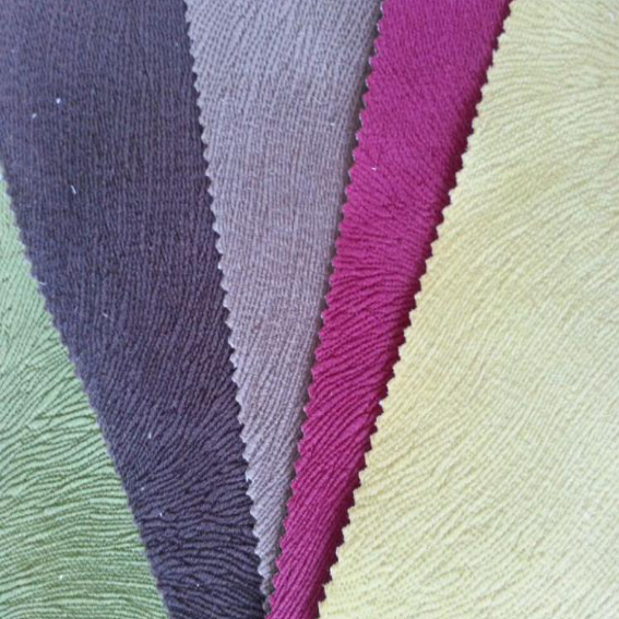 100% Polyester Burnout Velvet fabric for sofa MDLV001
