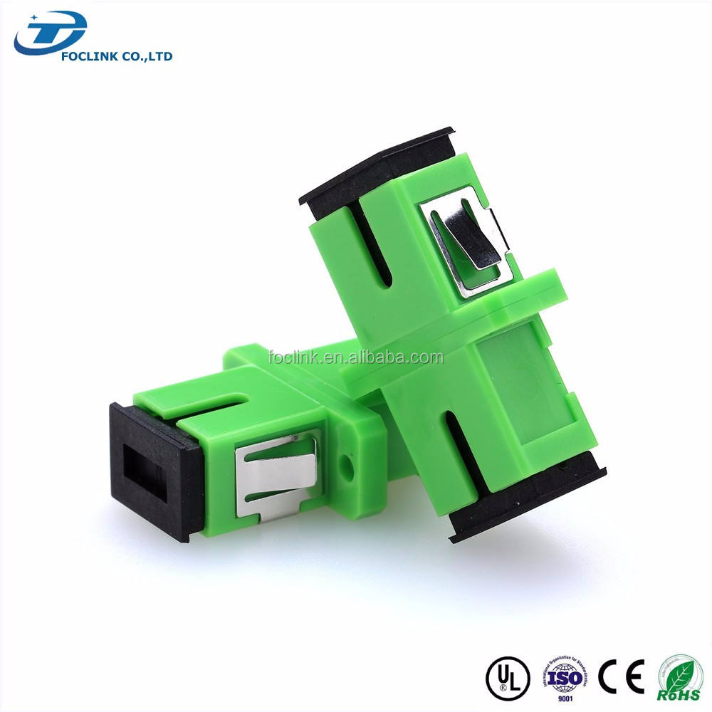 Manufacturer SC/PC,FC/APC,LC,ST SM&MM simplex hybrid (bare,male and female) fiber optical adapter used in terminal box connect