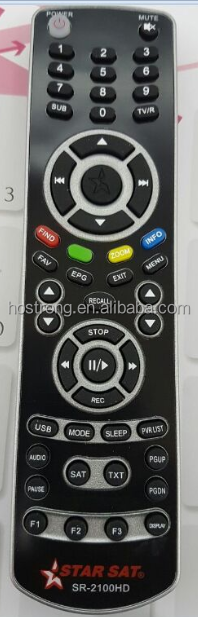 STAR SAT SR-2100HD SAT DVB satellite receiver remote control
