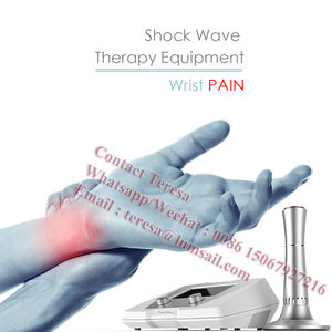 ESWT physiotherapy pain relief shock wave machine for Chronic neck dysfunction
