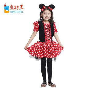 Chica anime mickey mouse mickey minnie cosplay traje