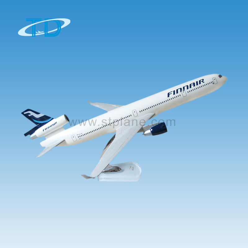 Finnair MD-11 Model Tampilan Logam Souvenir