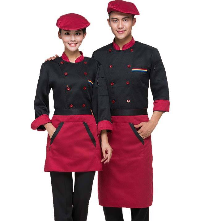 Hotel Restaurant Chef Uniform Chef <span class=keywords><strong>Jas</strong></span> Keuken <span class=keywords><strong>Jas</strong></span> Met Schort En Chef Hoed