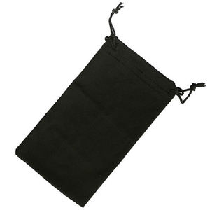Glasses Bag Custom Logo Black Velvet Pouch Bag