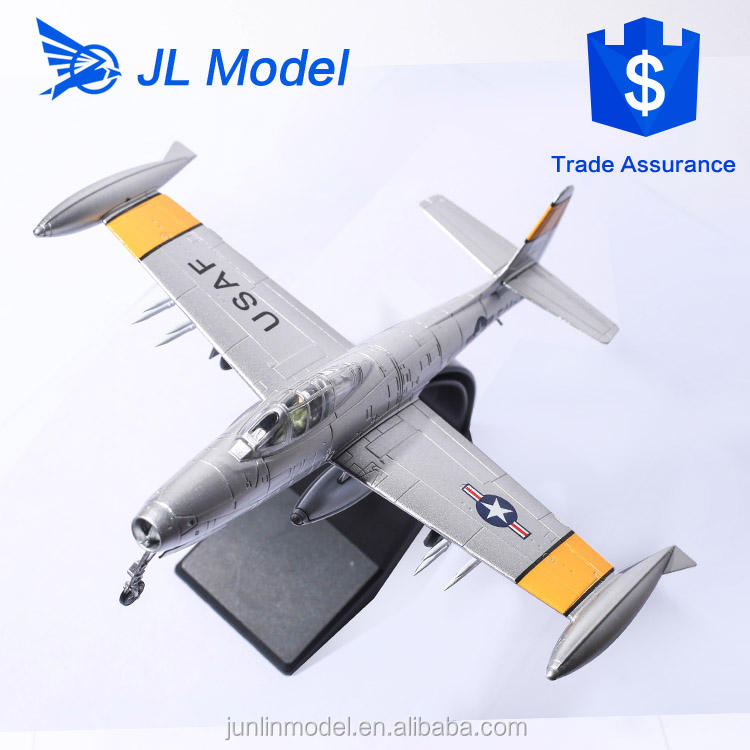 1958 USA <span class=keywords><strong>Republik</strong></span> F-84 Thunderjet s-<span class=keywords><strong>modell</strong></span> 1/72 kämpfer jets <span class=keywords><strong>modell</strong></span>