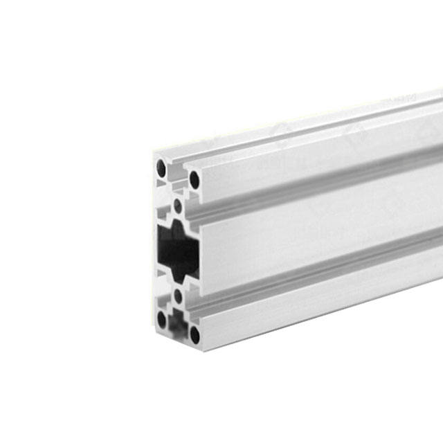 Round tube aluminum alu profiles for led lights manufacturer rectangular hollow section t6