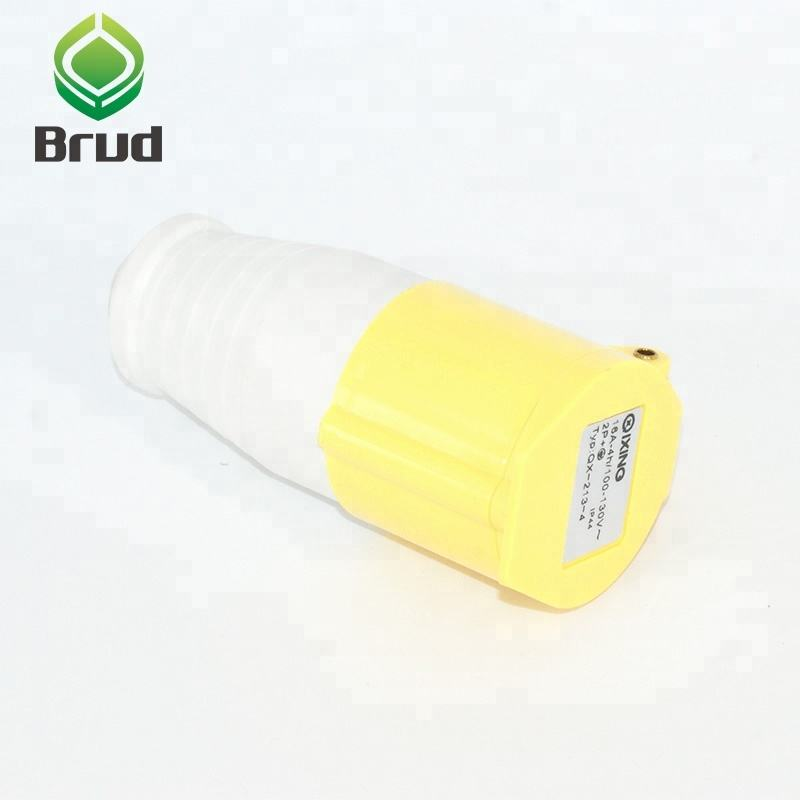 high quality 16 map 3p 110v 4h ip44 yellow CEE/IEC standard Yellow Color Industrial 110V Plug