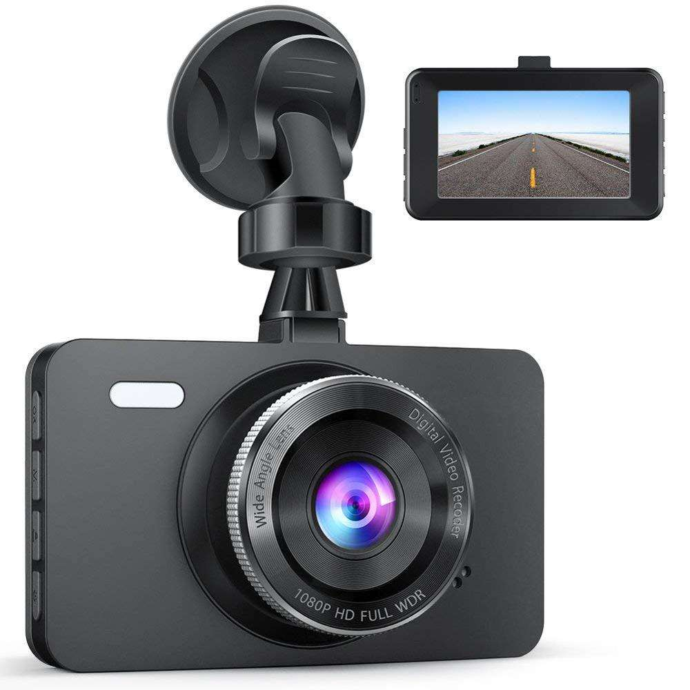 HD Screen16:9 Car DVR Built in GPS WiFi Car Camera 3.0 Inch Vehicle Camera Camcorder Night Vision Dash Cam