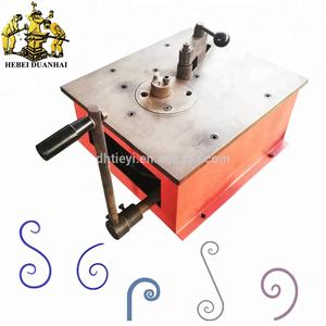 DH-SW.A Besi Tempa Scroll Bender Pedoman Baja Hias Scroll Alat Bending
