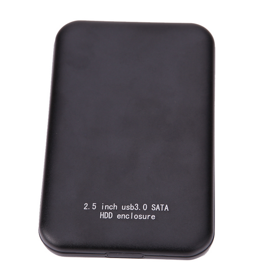 "2.5 ""USB 3.0 SATA HDD Kotak HDD Hard Disk Drive <span class=keywords><strong>Eksternal</strong></span> Hdd Case-Hitam"