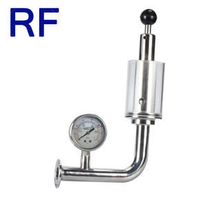 RF Tri-Clamp Safety Automatic Exhaust Valve/Air Release Valve 0.2-2.2 Bar for Beer Fermentation Tank