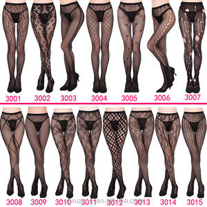 Women's Seamless Sheer Patterned Fishnet Pantyhose Tights