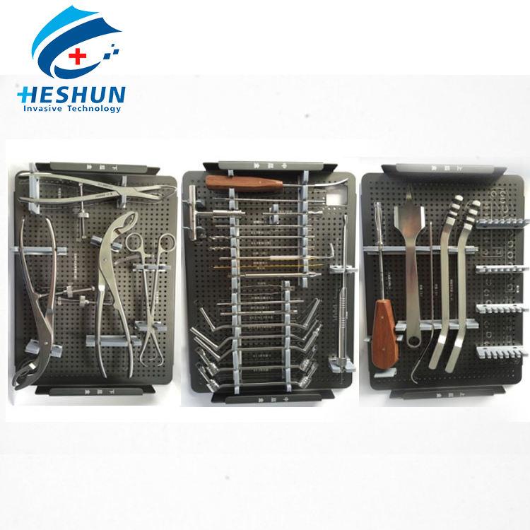 Ортопедические комплект хирургических инструментов для нижних конечностей имплантатов пластин