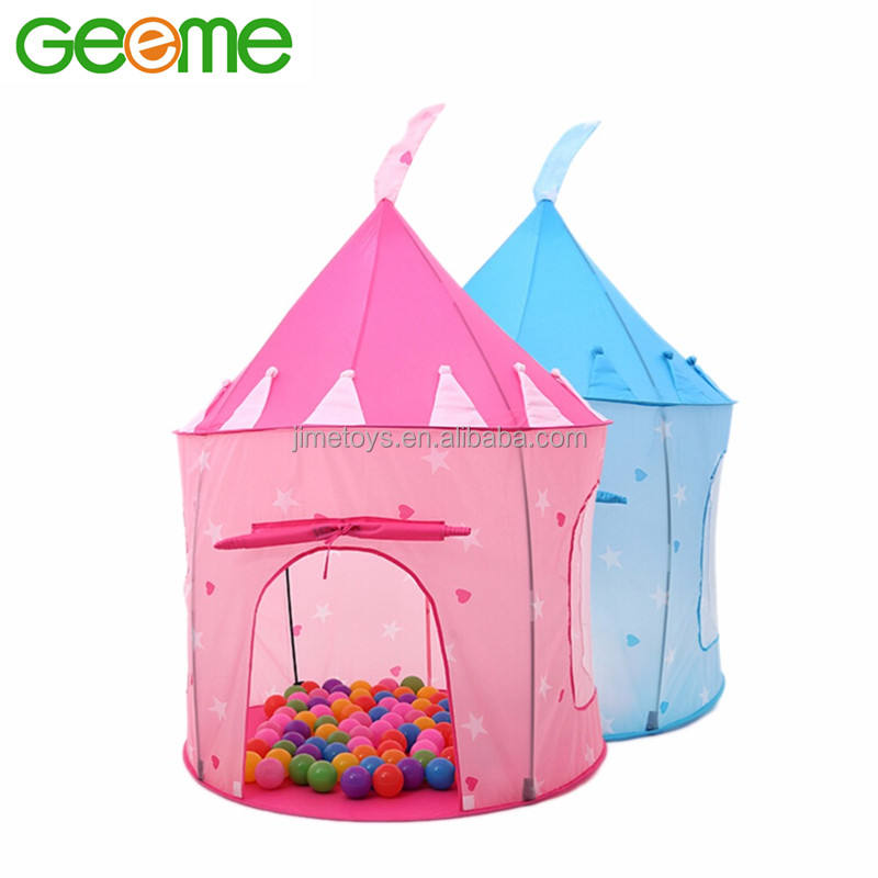 JT024 Amazon Hot Selling Portable Princess Play House Pop Up Kid Tent
