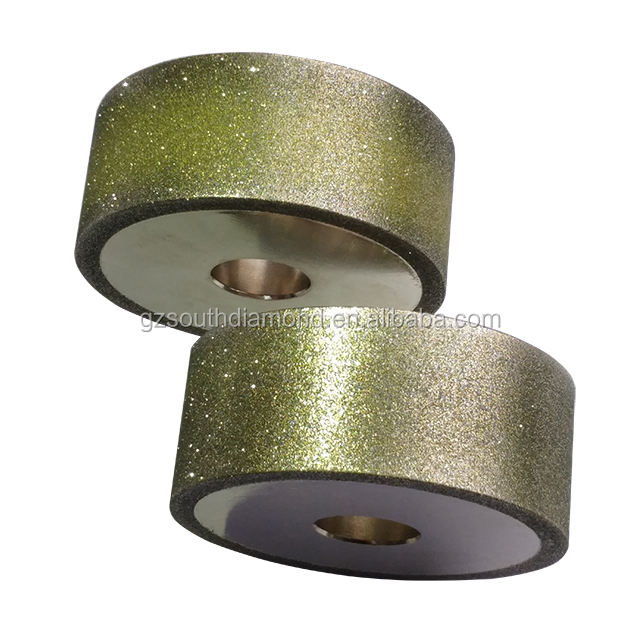 wood sharpening electroplated diamond cbn grinding contact wheel