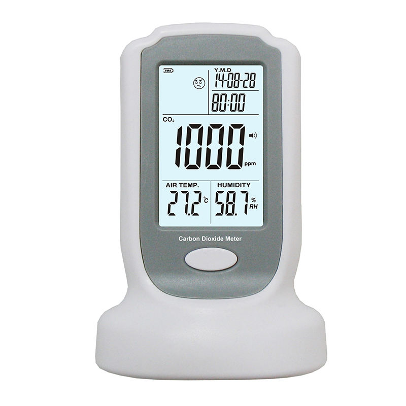 2017 hot sale Digital LCD Anemometer Tachometer With USB Wind Speed Measurement GM8902 Air Flow Tester Air Temperature Meter