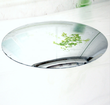 cheap frameless round concave convex mirror glass