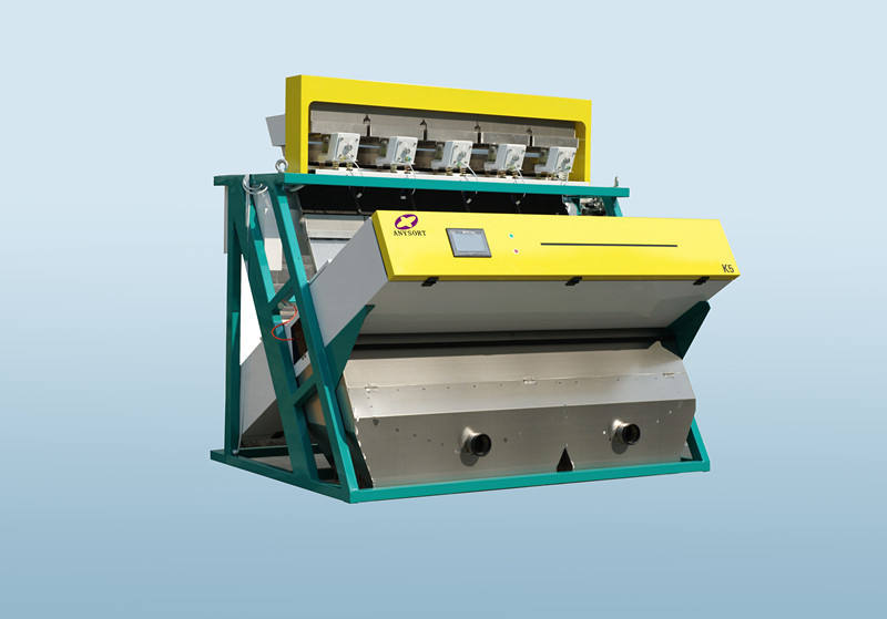 Intelligent multifunction sea salt CCD color sorting machine