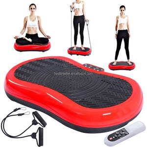 Ultradunne Mini Crazy Fit Trillingen Platform Massage Machine Fitness Gym