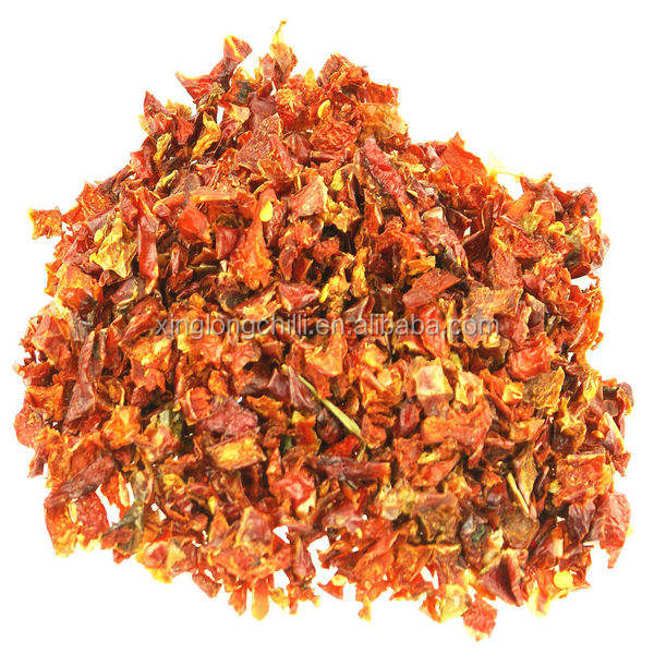 China Neihuang factory supply crushed Red Hot Chili flakes