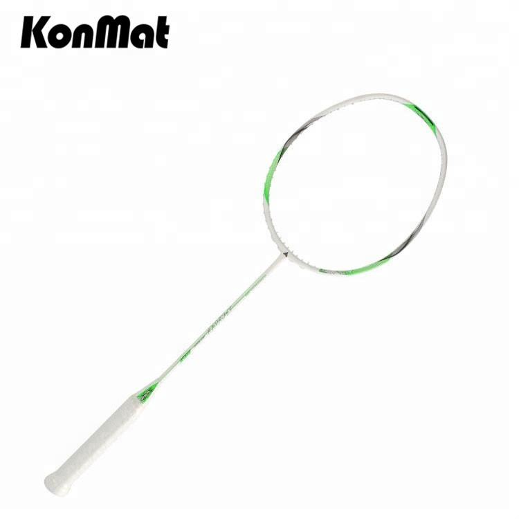China Fabriek Oem Of Odm Graphite-Fiber Hoge Pond 35lbs Badminton Shuttle Rackets