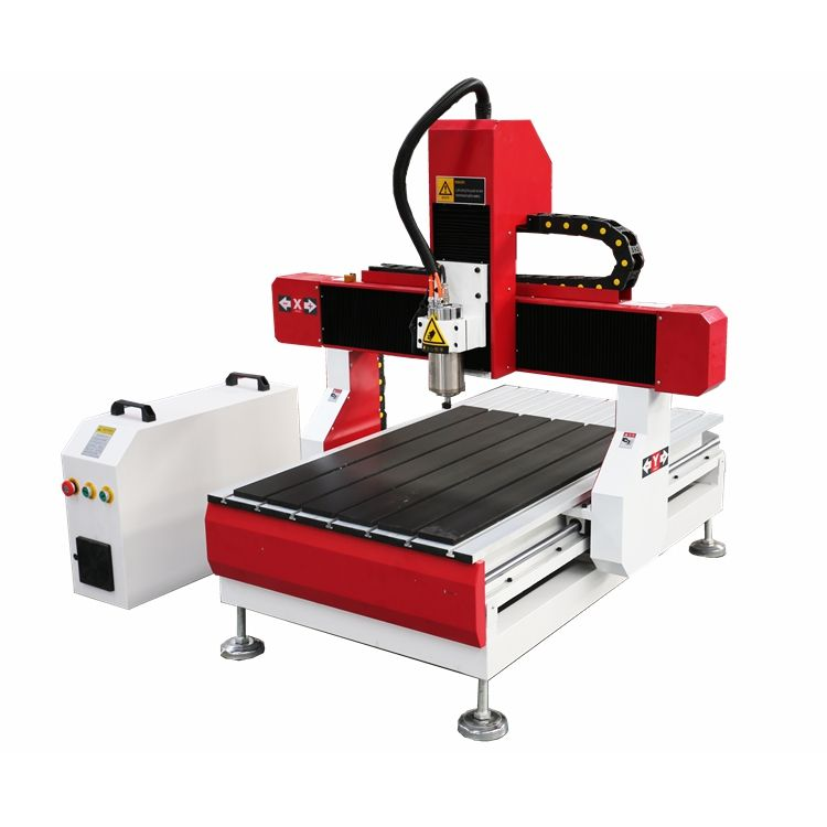 6060 Small Size Desktop with 2.2kw Spindle CNC Router